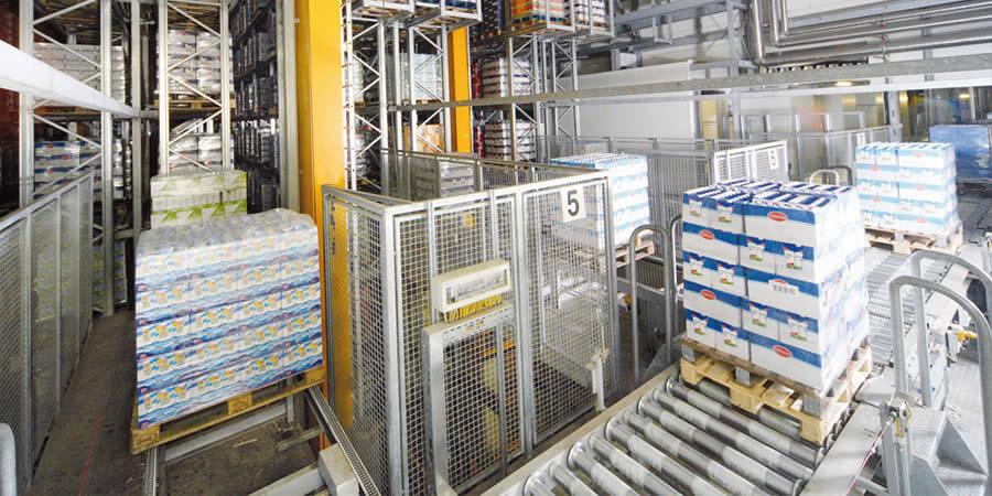 自动化立体仓库|物料输送|分拣系统|堆垛机|穿梭车|WMS|WCS|MES